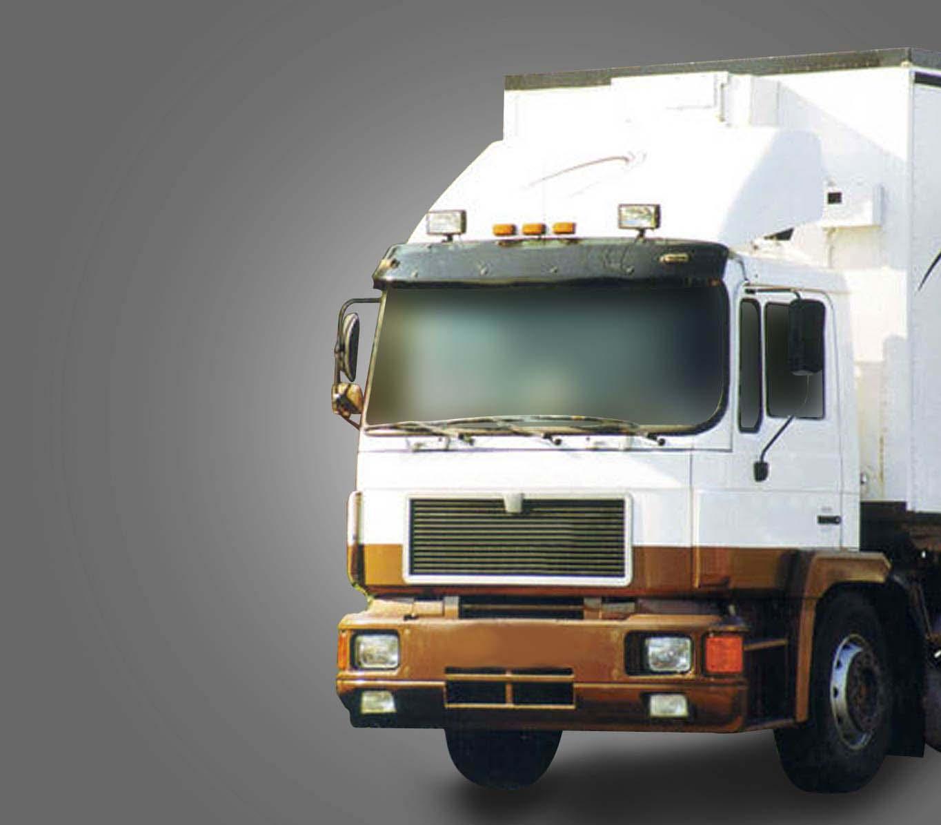 VISIERA PER MAN F2000 - M2000 - F90 - M90 - TETTO BASSO - Larghezza cabina 2280 mm